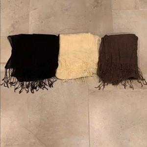 Accessories - Linen Scarves